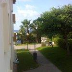 La mer juste a 300m de l'hotel