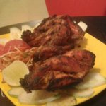 Ah the perfect Tandoori Chicken