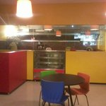 The open kitchen and its aromas