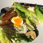 Apparently Caesar's Salad - off with chef's head