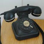 Telefoon op het nachtkastje