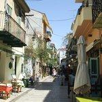 Typical Nafplio streets
