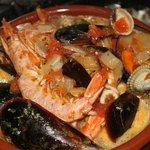 Cazuela de mariscos - Meeresfrüchte Auflauf