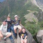 On top of Wayna Pichu!