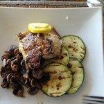 Grilled Grouper & Vegies