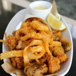 Frito Misto of Calamari at Cascade American Bistro at the Hyatt Regency Grand Cypress