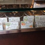 Just some of the interesting flavors available at La Passera