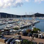vue du port Macinaggio,de l'hôtel Marina d'Oru Haute Corse