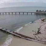 Arial shot of Jetty
