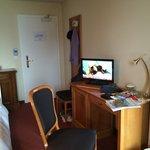 Relaxing area in junior suite