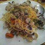 """Spaghetti con i """"Caparozzoli"""" (Vongole veraci)"""