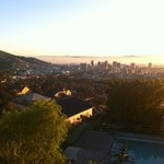 Blick Richtung Cape Town