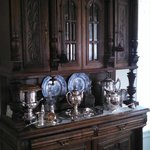 Beautiful hutch at Kilby Inn