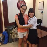 with lovely Miss Yen