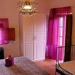 Magenta colour room