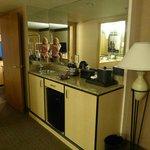 Wet Bar in Suite