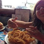 This is the small order of onion rings