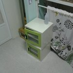 small storage in room