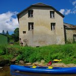 Canoe down the Trieux on campsite's own boats - available to use for free!