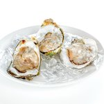 Thai oysters on ice