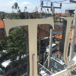 """View from room """"Love Me Long Time"""". Busy road but never noisy during our stay. Great soundproof"""