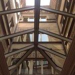 techos del lobby