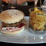 Gourmet burger 🍔, very tasty
