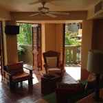 Club Intrawest - our living room with open air