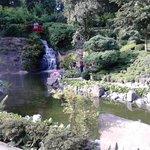 Japanischer Garten waterfall