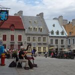 Square in Lower Town, Quebec City