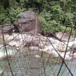 one of the two iron bridges