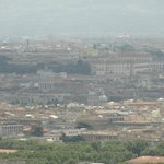View of Rome from Imperial Lounge