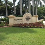 Entering Westin Cape Coral at Marina Village
