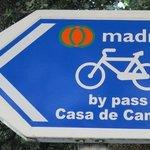 ciclistas podem aproveitar as muitas trilhas