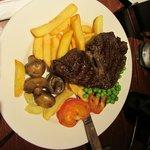 A decent steak meal