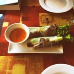 Vietnamese Spring Roll with Grilled Pork
