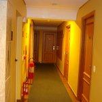 Vista dos corredores