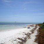 La plage côté sud