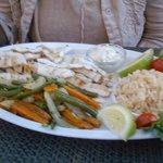 Grilled Calamari & Vegetables