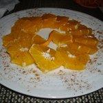 Sliced Orange Dessert