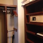 closet - much larger than the photo suggests