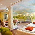 Relaxing room at the Wellnesshotel Bergland