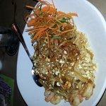 Shrimp Pad Thai Very Sweet & Spicy