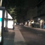 place des quinconces la nuit
