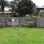 Entrance to the Copthorne