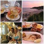 Beachside Dining at Oura View Beach Club