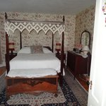 Main bedroom of three-room Sisters' Suite
