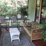 The Front porch to relax