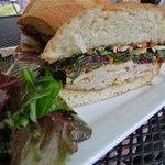 Turkey and Brie sandwich Fresh