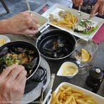 A dinner not to what we expect in Belgium